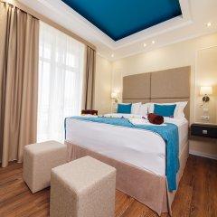Гостиница Голубая Лагуна Номер Делюкс разные типы кроватей фото 13