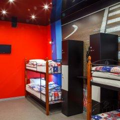 Hostel Racing Paradise Кровать в общем номере с двухъярусной кроватью