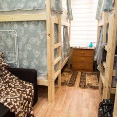 Хостел Рус – Парк Победы Кровать в общем номере с двухъярусной кроватью фото 4