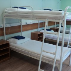 Хостел Бор на Волге Кровать в общем номере двухъярусные кровати фото 4