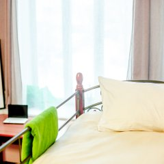 Хостел Сердце Столицы Кровать в общем номере с двухъярусной кроватью фото 3