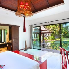 Отель The Bell Pool Villa Resort Phuket 5* Вилла с различными типами кроватей