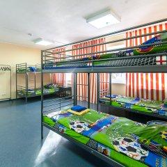 Хостел Чемпион Кровать в общем номере с двухъярусной кроватью фото 8