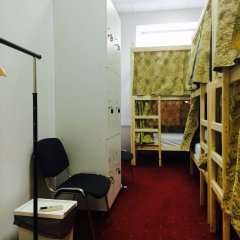 Centeral Hotel & Hostel Кровать в общем номере фото 17