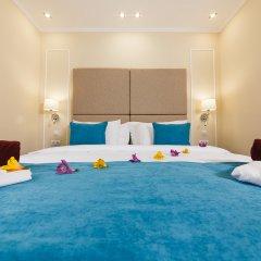 Гостиница Голубая Лагуна Номер Делюкс с различными типами кроватей