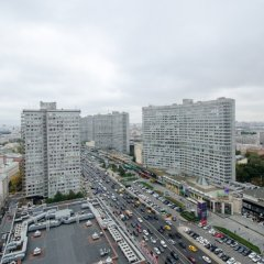 Апартаменты на Новом Арбате 26 балкон