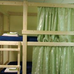Хостел Меридиан на Фортунатовской Кровать в общем номере с двухъярусной кроватью