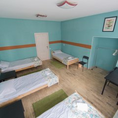 Мини-Отель Компас Номер с общей ванной комнатой с различными типами кроватей (общая ванная комната) фото 13