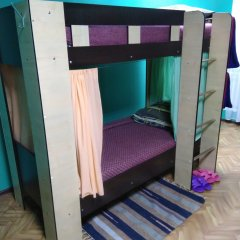 Мини-отель & Хостел Заря Кровать в женском общем номере двухъярусные кровати