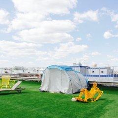 Гостиница Zvezda Rooftop Camping Номер категории Эконом с различными типами кроватей фото 6
