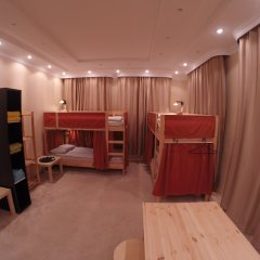 Гостиница Майкоп Сити Кровать в общем номере с двухъярусной кроватью фото 4
