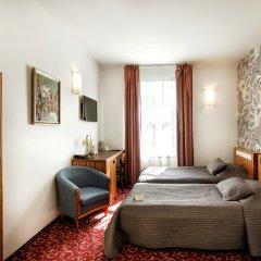 City Hotel Teater 4* Стандартный номер с разными типами кроватей фото 13
