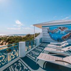 Гостиница Белый Песок в Анапе 7 отзывов об отеле, цены и фото номеров - забронировать гостиницу Белый Песок онлайн Анапа балкон