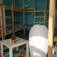 A&B hostel Chistye Prudy Кровать в мужском общем номере с двухъярусными кроватями