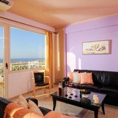 Notos Heights Hotel & Suites 4* Люкс с различными типами кроватей фото 2