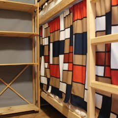 Гостиница Хостелы Рус - Звездный Бульвар Кровать в мужском общем номере с двухъярусными кроватями фото 2