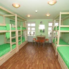 Хостел ВАМкНАМ Захарьевская Кровать в мужском общем номере с двухъярусной кроватью