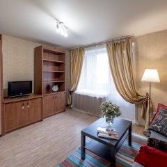 Апартаменты Красноказарменная 16 Б комната для гостей фото 2
