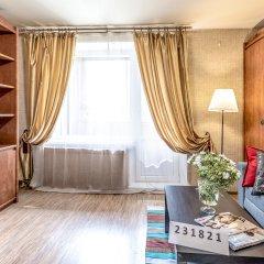 Апартаменты Красноказарменная 16 Б комната для гостей фото 3
