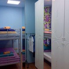 Хостел 7 Sky на Красносельской Кровать в женском общем номере с двухъярусной кроватью фото 7