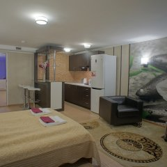Гостиница JOY Апартаменты разные типы кроватей фото 12