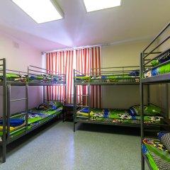 Хостел Чемпион Кровать в общем номере с двухъярусной кроватью фото 2