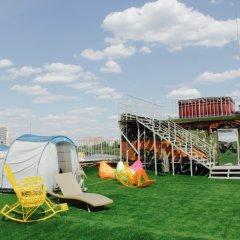 Гостиница Zvezda Rooftop Camping Номер категории Эконом с различными типами кроватей фото 5