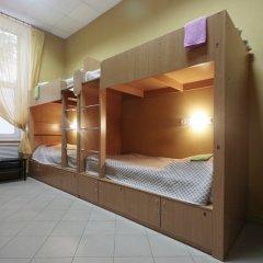 Hostel Podvorie Кровать в общем номере с двухъярусной кроватью фото 3