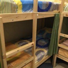 Хостел Аквариум Кровать в общем номере с двухъярусными кроватями фото 13