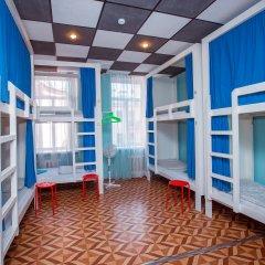 Laguna Hostel Кровать в общем номере с двухъярусной кроватью фото 3