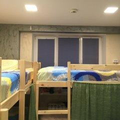 Хостел Аквариум Кровать в общем номере с двухъярусными кроватями фото 7