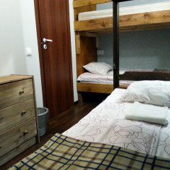 Мини-отель Роза Ветров Кровать в общем номере с двухъярусной кроватью