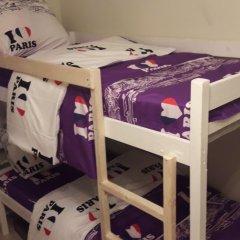 Хостел Visotka Кровати в общем номере с двухъярусными кроватями фото 6