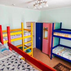 Хостел Мир Без Границ Кровать в общем номере с двухъярусной кроватью фото 12