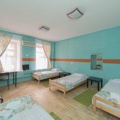 Мини-Отель Компас Номер с общей ванной комнатой с различными типами кроватей (общая ванная комната) фото 7