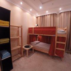 Гостиница Майкоп Сити Кровать в общем номере с двухъярусной кроватью фото 7