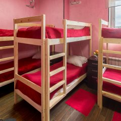 Хостел Абсолют Кровать в мужском общем номере фото 8