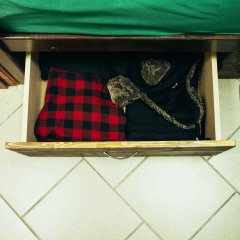 Хостел Найс Рязань Кровать в мужском общем номере с двухъярусной кроватью фото 7