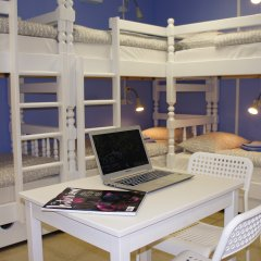 Гостевой Дом Полянка Кровать в общем номере с двухъярусными кроватями фото 3