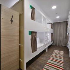 Хостел Nice Пенза Кровать в женском общем номере с двухъярусной кроватью фото 5