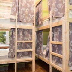 Хостел Рус – Парк Победы Кровать в общем номере с двухъярусной кроватью фото 9