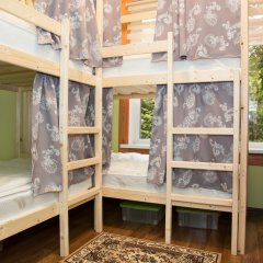 Хостел Рус – Парк Победы Кровать в общем номере с двухъярусной кроватью
