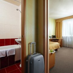 Гостиница Заречная Стандартный номер с двуспальной кроватью фото 2