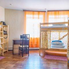 БМ Хостел Кровать в общем номере с двухъярусной кроватью фото 2