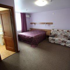 Гостиница Два крыла Стандартный семейный номер с различными типами кроватей
