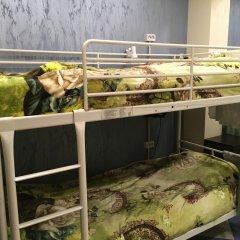 Хостел Аквариум Кровать в общем номере с двухъярусными кроватями фото 20
