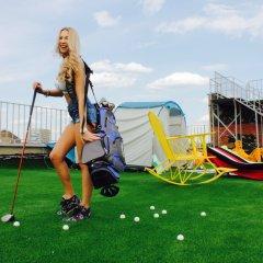 Гостиница Zvezda Rooftop Camping Номер категории Эконом с различными типами кроватей фото 4