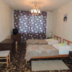 Гостиница Сансет 2* Номер с общей ванной комнатой с различными типами кроватей (общая ванная комната) фото 6