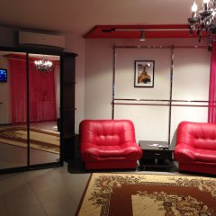 Megapolis Hotel 3* Улучшенные апартаменты с различными типами кроватей фото 3
