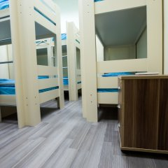 Мини-Отель City Life 2* Кровать в общем номере с двухъярусной кроватью